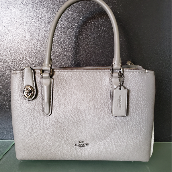 Picture - Coach Handbag, Grey