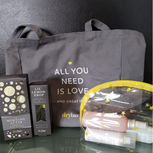 Picture - DryBar Tote and Hair care products